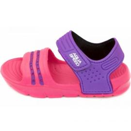 Aqua-speed sandaler Noli pink lilla col.39