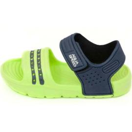 Sandaler Aqua-speed Noli grøn marineblå col .84