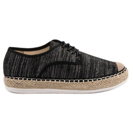 Small Swan sort Lace-up Espadrilles