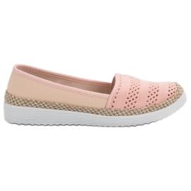 SHELOVET pink Tekstil Espadrilles