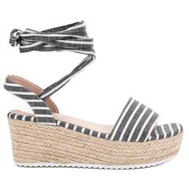 Seastar grå Sandaler Med Wedge Bælter