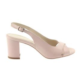 Pink Kvinders sandaler på posten Badura 4728 pulverrosa