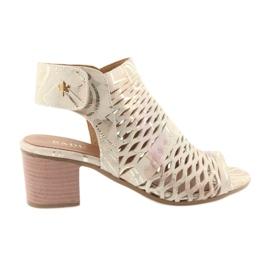 Sandaler med Badura 4723 øvre