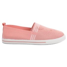 SHELOVET Tekstil Sneakers pink