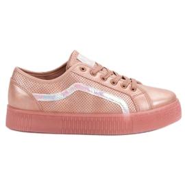 SHELOVET Casual Ladies Sko pink