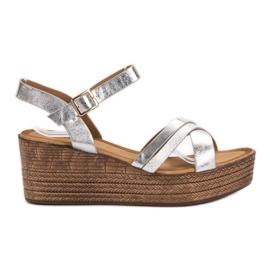 Seastar Lette sandaler på Wedge grå