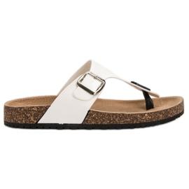 Seastar Komfortable flip-flops hvid