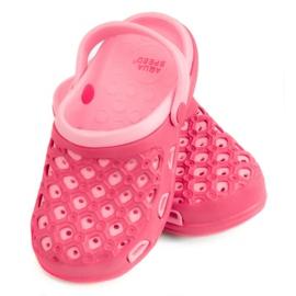Tøfler AQUA-SPEED Itaka Jr 03 496 pink