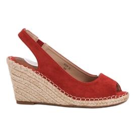 Seastar rød Weddered Sandals