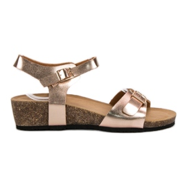 Seastar pink Classic Wedge Sandals