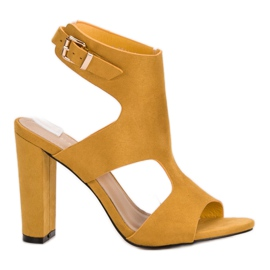 Ideal Shoes gul Sexy High Heels