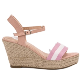 Primavera pink Casual wedge sandaler