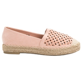 Pink Suede Espadrilles VICES