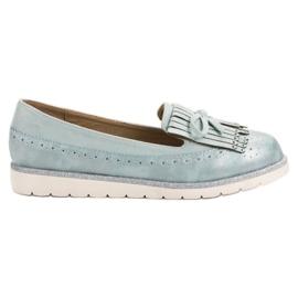 Balada blå Women's Blue Loafers
