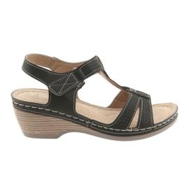 Komfortable kvinders sandaler DK sort