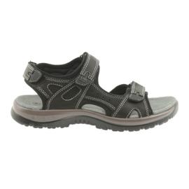 DK sandaler sort velcro lys EVA bund