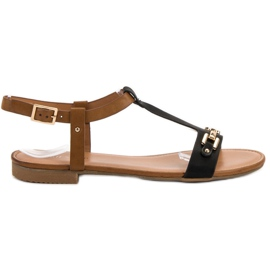 Small Swan Casual Sandals