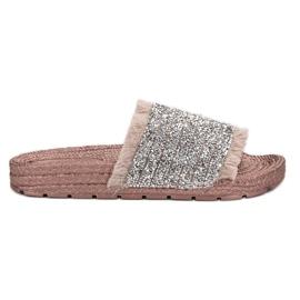 Pink Komfortable VICES hjemmesko