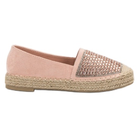 Espadrilles Med VICES Cement pink