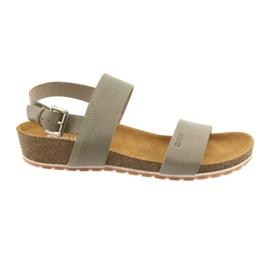 Big Star Women's grå sandaler 274A014