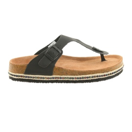 Kvinders flip-flops Big Star 274132 sort