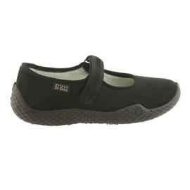 Sort Befado kvinders sko pu - ung 197D002