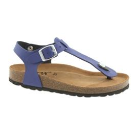 BIOX azul flip-flops blå