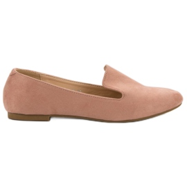 Lily Shoes pink Suede Lords