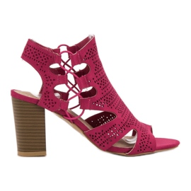 Goodin pink Moderigtige sandaler Fuchsia