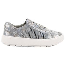 Goodin Lace-up sko grå
