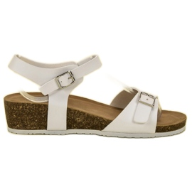 Seastar hvid Classic Wedge Sandals