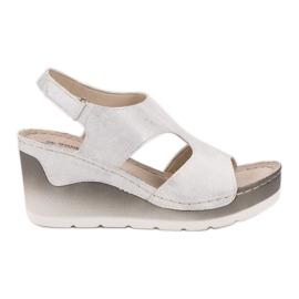 Goodin Komfortable Wedge Sandals hvid