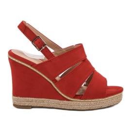 Primavera Røde sandaler