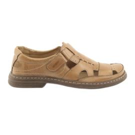 Naszbut brun Fuld sandaler Vores 968 beige