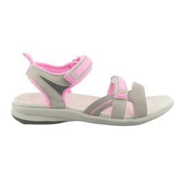 Girls 'sandaler American Club HL12 grå