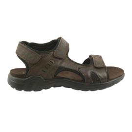 American Club Amerikansk lædersports sandaler CY11 brun