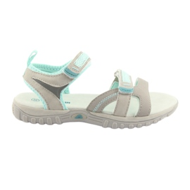 Piger 'sandaler American Club HL14 grå / mynte