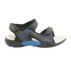 American Club HL15 drenge sandaler sort