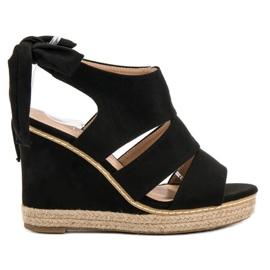 Anesia Paris sort Weddered Sandals