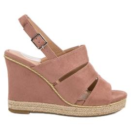 Primavera pink Pulverformige Sandaler