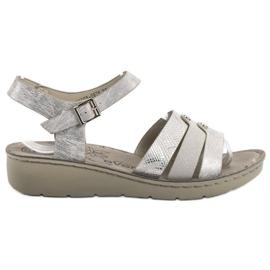 Evento Sølv Sandaler grå