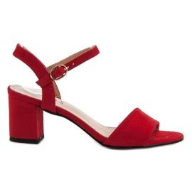 Evento Sandaler i baren rød