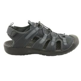 American Club navy American HL02 sports sandaler. Mørkeblå