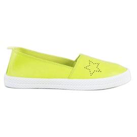 Kylie Slip-on sneakers grøn