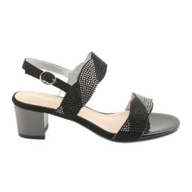 Sandaler på stolpen af Sergio Leone SK795 sort
