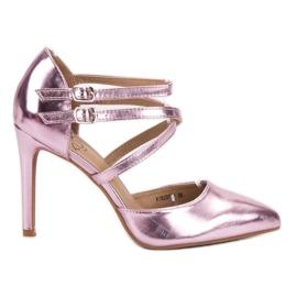 Kylie pink Skinnende Fashion Studs