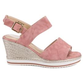 SHELOVET pink Lyserøde Sandaler