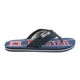 Mænds Bælter Big Star 174658 Navy Blue