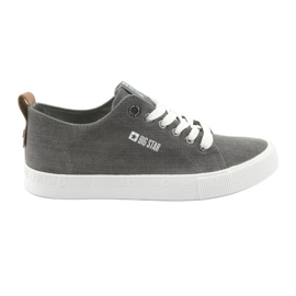 Mænds grå sneakers Big Star 174165