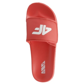 Tøfler 4F Jr J4L19-JKLD200 62S rød